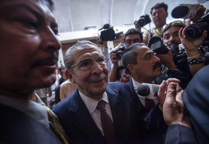 Ríos Montt y su entonces Jefe de Inteligencia José Rodríguez son acusados de genocidio y delitos de deberes contra la humanidad. (EFE)