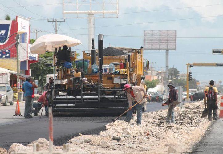 Realizan obras de infraestructura en redes de transporte en el estado. (Israel Leal/SIPSE)