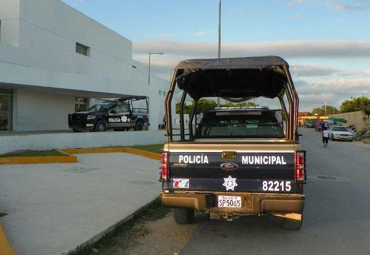 Desde hace una semana disminuyeron el combustible para patrullas. (Loana Segovia/SIPSE)