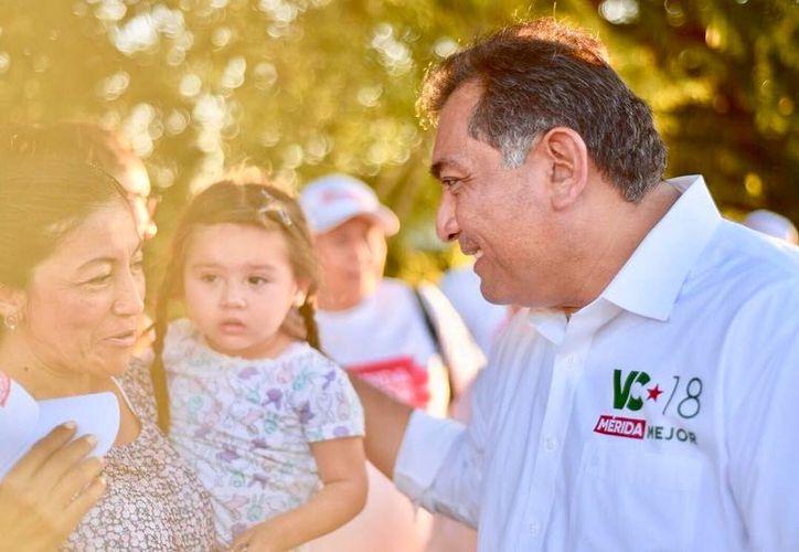 Víctor Caballero llama a impulsar una cultura ambiental para Mérida. (Milenio Novedades)
