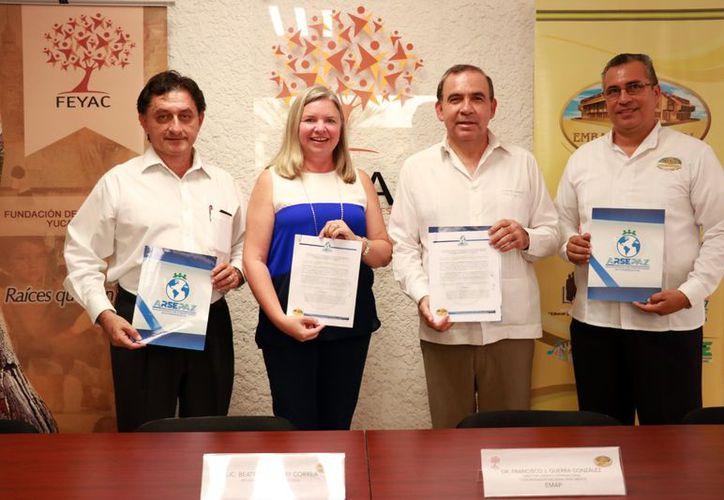 Feyac firma tratado de responsabilidad social. (Milenio Novedades/ Jorge Acosta/ Milenio Novedades)