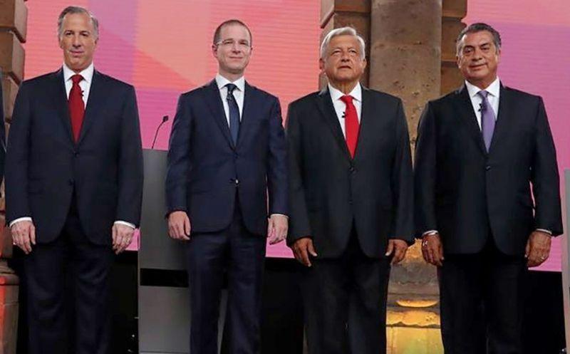 El tercer debate presidencial que se desarrollará el próximo 12 de junio en Mérida. (Agencias)