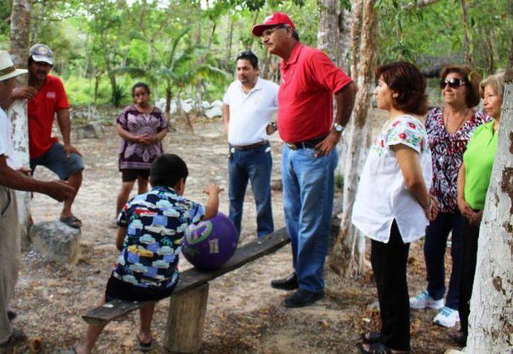 """La planta potabilizadora se está construyendo en la comunidad """"Vida y Esperanza"""" en el municipio de Solidaridad. (Daniel Pacheco/SIPSE)"""