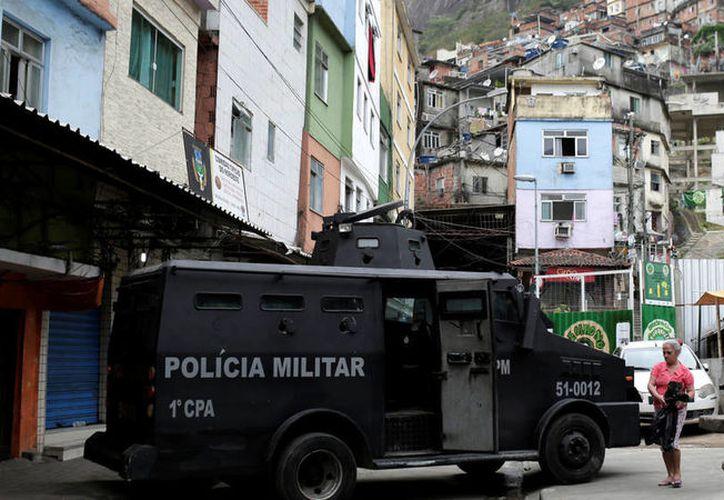 Una ciudadana española de 67 años falleció por disparos de la policía de Río de Janeiro. (Reuters).