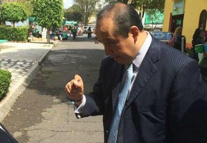 El diputado local panista Édgar Borja consideró que le quieren fabricar delitos. (Foto tomada de internet)