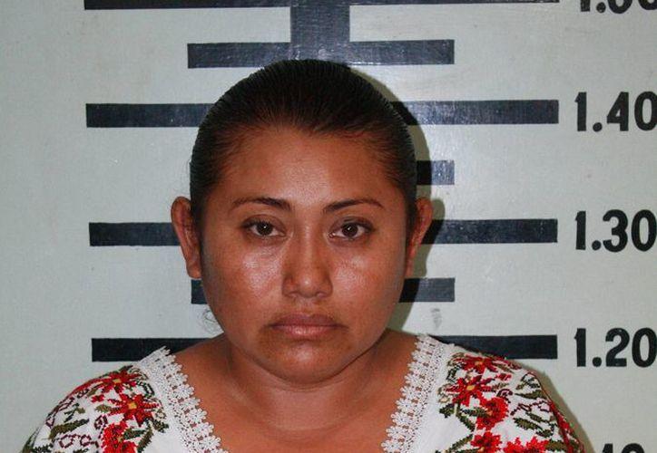 Rosa María Ortegón Pat, presunta defraudadora. (SIPSE)