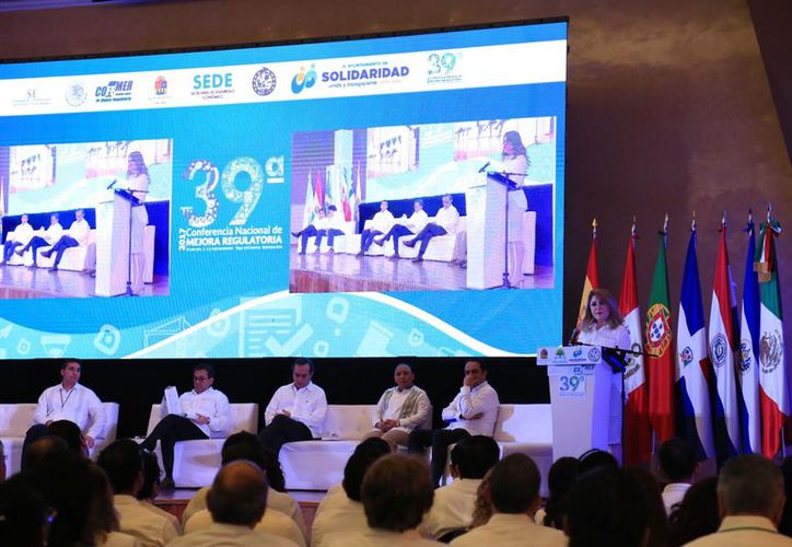 Inauguración de la 39 Conferencia Nacional de Mejora Regulatoria y la 5ta. Red Latinoamericana y del Caribe en Mejora Regulatoria. (Cortesía)