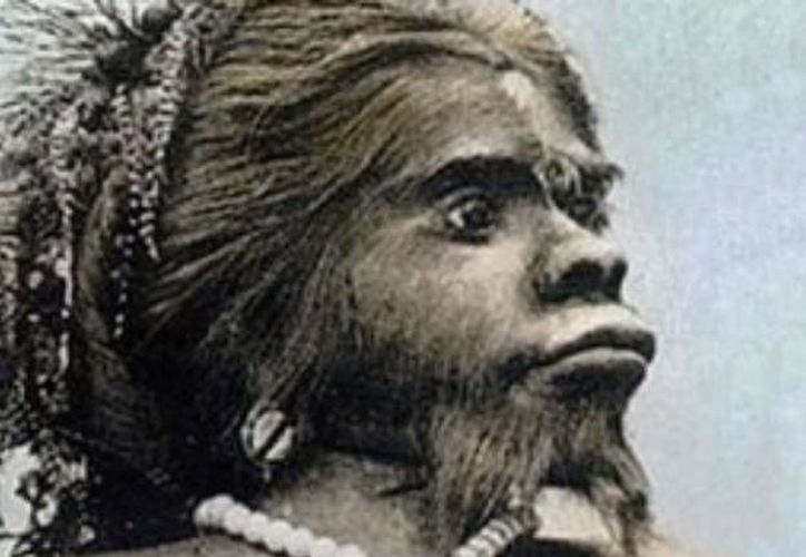 Con su cara y cuerpo peludo, su prognatismo mandibular y otras deformidades, Julia Pastrana fue conocida como la 'mujer mono'. (Agencias)