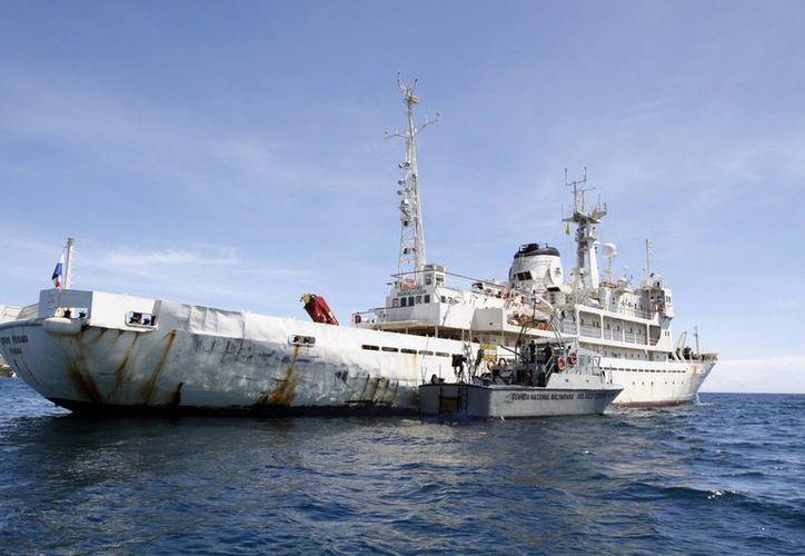 La embarcación presuntamente realizaba labores científicas dentro del territorio venezolano sin autorización. (Agencias)