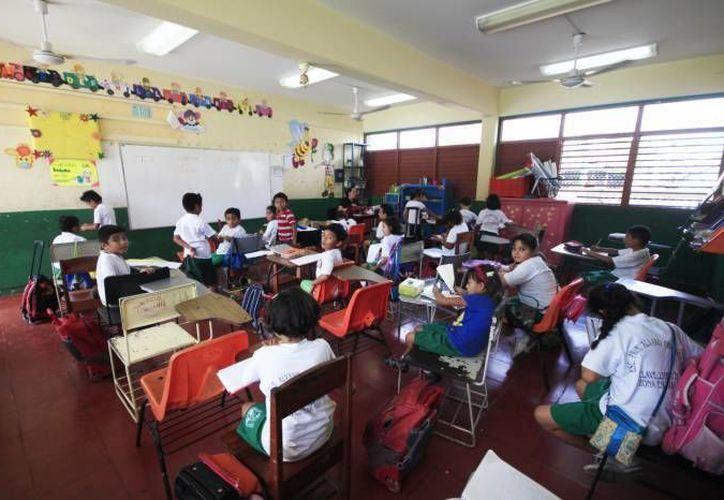 Alumnos de educación básica sí tendrán clases los días de carnaval. (Redacción/SIPSE)