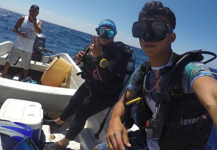 Lizbeth Tamayo detalló que su viaje será costeado por la organización civil COBI, con presencia y campo de acción en Cozumel y Baja California. (SIPSE)