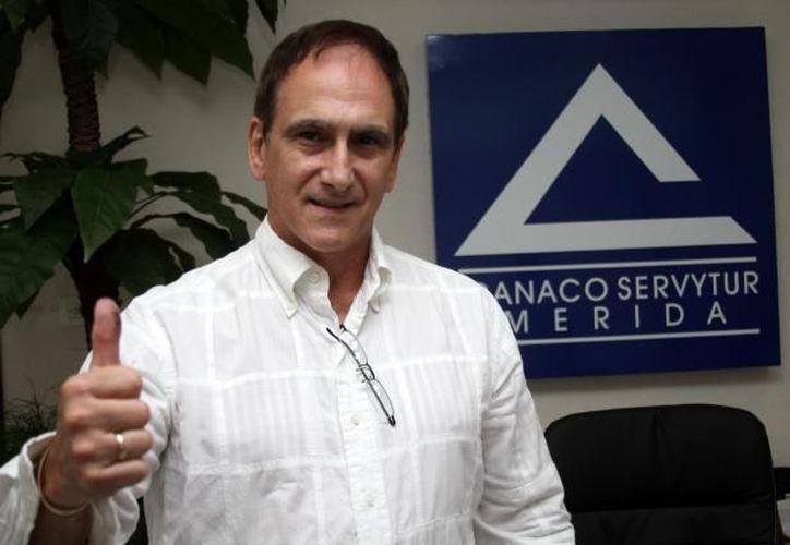 Jorge Manzanilla: el sector empresarial exige a las autoridades correspondientes un trabajo más ágil para atraer a Yucatán más turistas. (Archivo SIPSE)