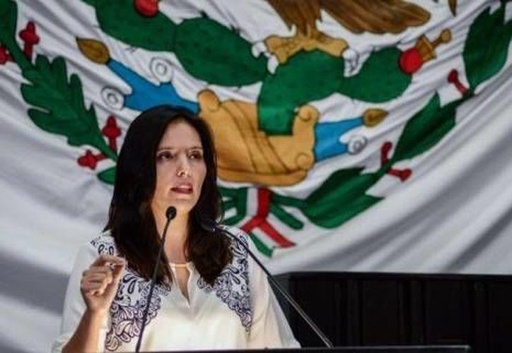 Berenice Polanco Córdova adelantó que abordarán pendientes de las iniciativas relacionadas con el nuevo sistema de justicia penal acusatorio. (Cortesía/SIPSE)