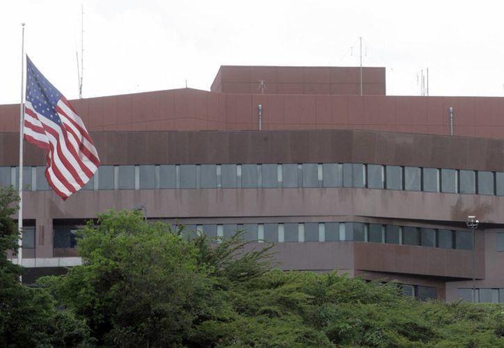 Sede de la embajada de Estados Unidos en Caracas, Venezuela. (Agencias)