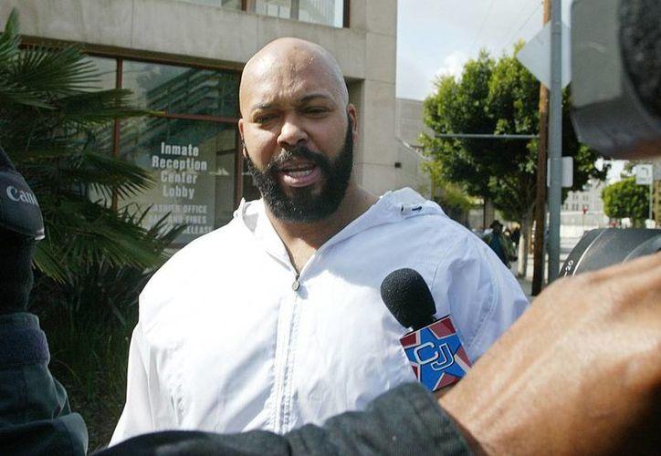 Se informó que Mario 'Suge' Knight y las otras dos personas baleadas fueron atendidas en hospitales locales y que todos sobrevivirán. (AP)