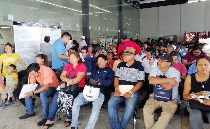 La gente comienza a llegar desde las 7 de la mañana o un poco antes. (Novedades Yucatán)