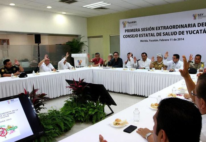 Ayer martes 11 de agosto sesionó el Consejo Estatal de Salud de Yucatán. (Milenio Novedades)