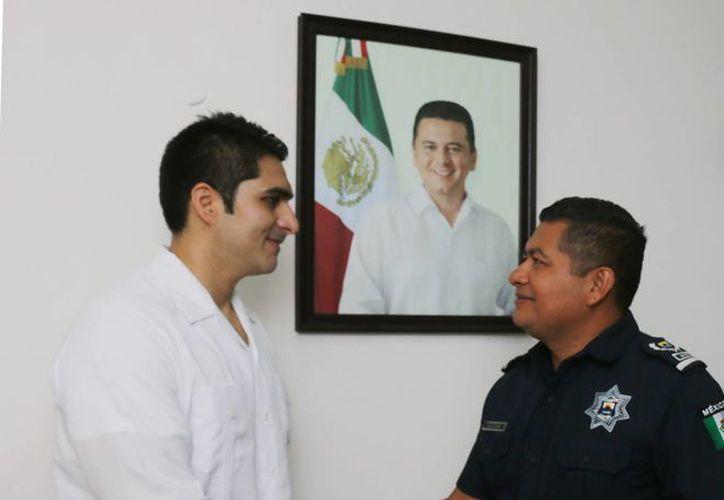 El Capitán Pablo Luis López agradeció el apoyo.(Redacción)