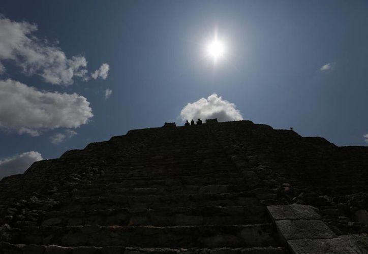 Desde tiempos inmemoriales el fenómeno del solsticio marca la pauta en comunidades mayas en cuanto a actividades agrícolas. (Notimex)