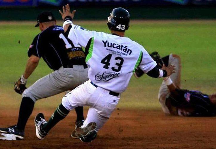 Los Leones de Yucatán ganaron la serie a los Rieleros de Saltillo 2-1. (SIPSE)