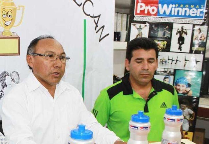 Roger Martínez Pérez, Presidente de la Asociación local de Frontón dijo que el objetivo principal es promover el deporte. (SIPSE)