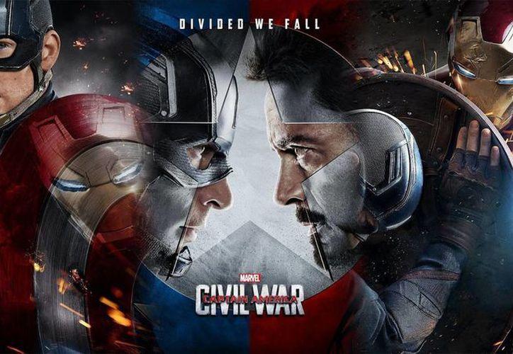 'Capitan América: Civil War' llega a los cines de México en los primeros minutos de este viernes. (Imágenes tomadas de Milenio)