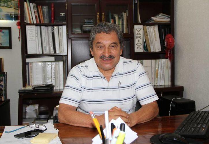 Luis Roberto Arce Lara, pionero en Cancún y personaje histórico. (Tomás  Álvarez/SIPSE)