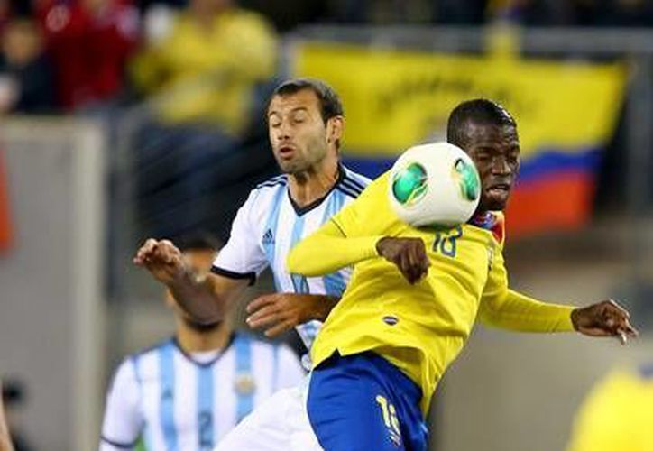 Enner Valencia jugará en el West Ham después de haber militado en el club Pachuca de México. (zimbio.com)