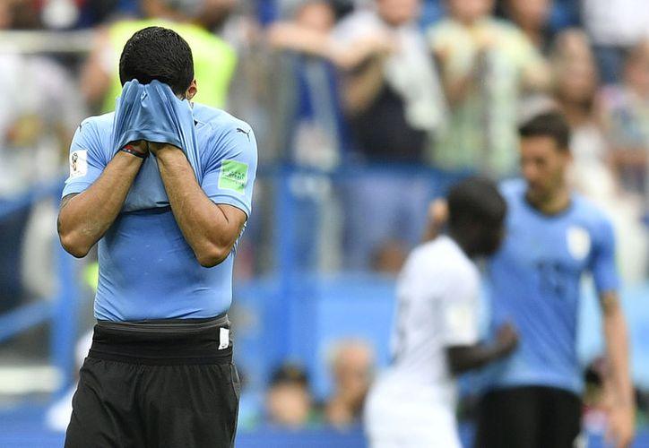 Los dos últimos jugadores de Liga MX que estaba en el Mundial eran uruguayos (Foto: AP)