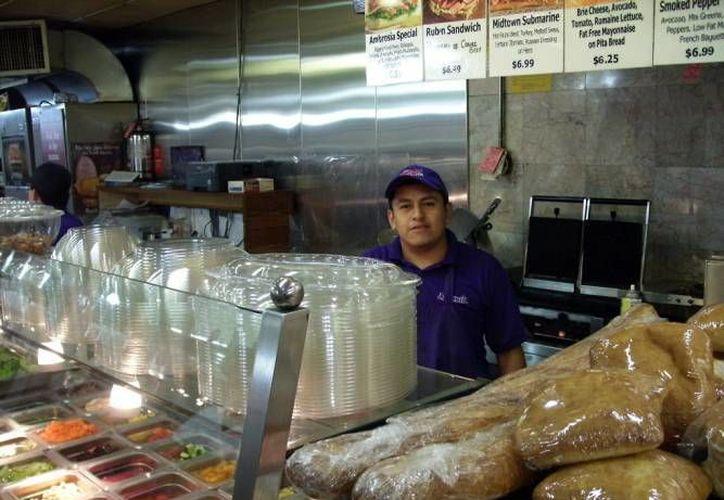 Las remesas de migrantes que llegan a Yucatán han ido a la alza de 2012 a la fecha, sobre todo luego de un periodo de crisis en  EU. (Foto de contexto de SIPSE)