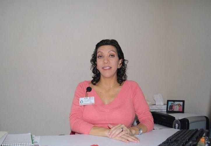 Dominique Torres Reynoso dijo que en diciembre incrementa el consumo de drogas. (Octavio Martínez/SIPSE)