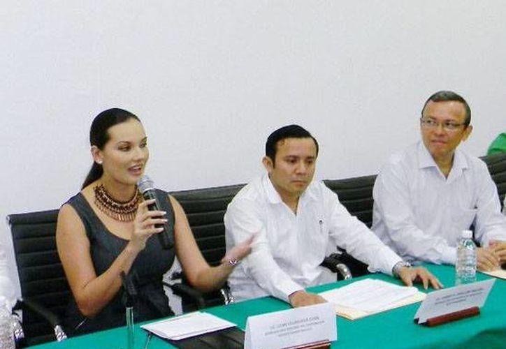 El evento se realizó en el aula magna de la Universidad de Quintana Roo. (Redacción/SIPSE)