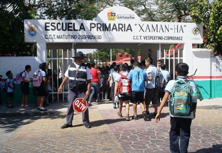 En abril se distribuirá un protocolo para el manejo de casos de acoso escolar en Playa del Carmen. (Octavio Martínez/SIPSE)