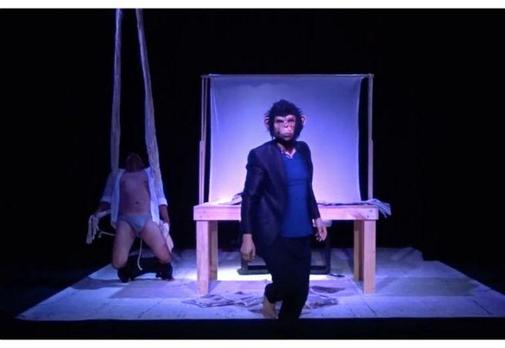 La obra parte de una anécdota que sucedió en un festival de teatro. (Faride Cetina/SIPSE)