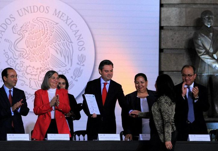 Aurelio Nuño, secretario de Educación Pública, anunció el despido de más de tres mil 300 profesores. (Notimex)