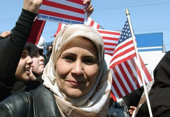 Muchos árabes en EU se sienten parte de la sociedad norteamericana. (Agencias)