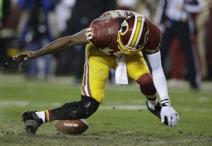 Otra rotura del ligamento anterior cruzado complicaría la recuperación de Griffin. (NFL)