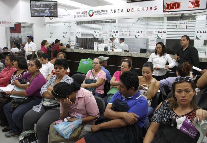 La promoción del predial en Cancún incluía descuentos del 20% al 5%. (Tomás Álvarez/SIPSE)