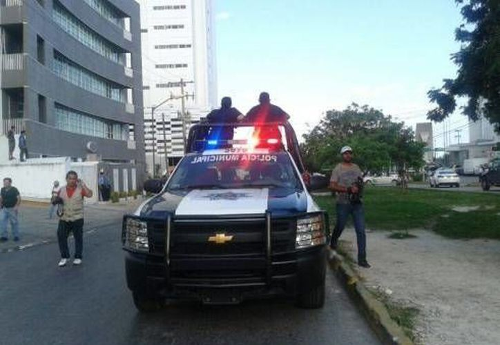 Dieron aviso a las patrullas para localizar la unidad. (Eric Galindo/SIPSE)