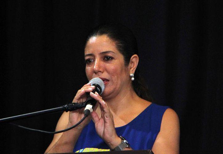 Xóchitl Carmona, directora del ITC, dijo que incrementa el interés de jóvenes por estudiar tecnología. (Paola Chiomante/SIPSE)