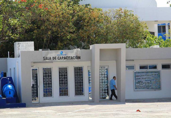 Oficinas de Aguakan en el undécimo municipio. (Jesús Tijerina/SIPSE)