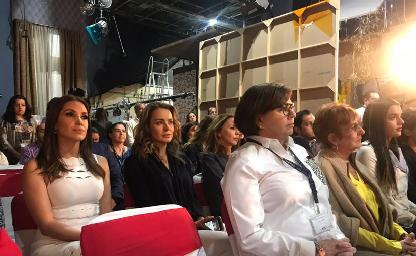 Se celebró una misa por el inicio de las grabaciones de la telenovela. (Jocelyn Díaz/SIPSE)