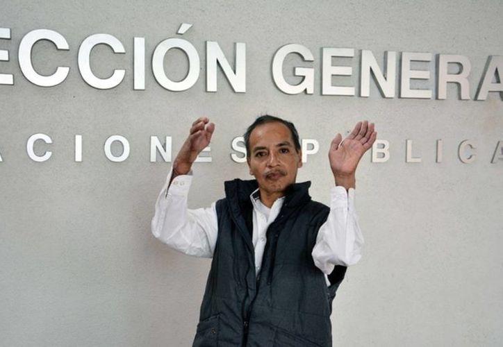 Alberto Sánchez Garay fue el noveno paciente en el que se logra el implante de manos en el Hospital General de México. El mexiquense se mutiló ambas extremidades con una sierra giratoria en 2015. (Secretaría de Salud)