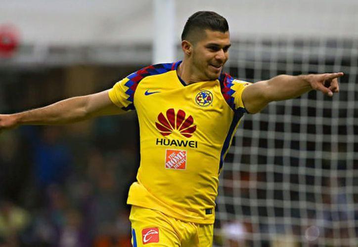 El yucateco Henry Martín juega con número 21, en las Águilas del América. Este jueves fue convocado a la Selección Nacional. (Archivo/agencias)