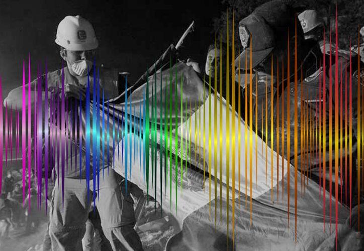 """Los registros del terremoto fueron aprovechados para crear la instalación sonora """"19-sonic-14/Earthquake"""" (Foto: Internet)"""