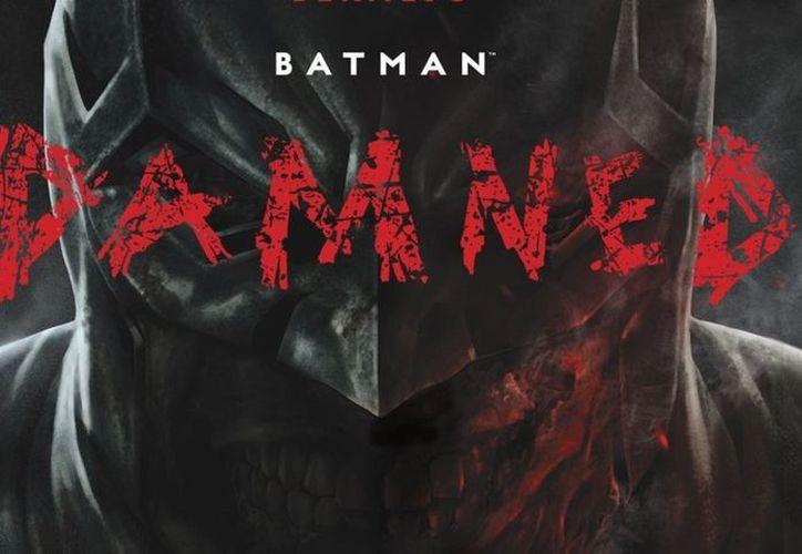 Después de la polémica, DC cubrió con sombras el desnudo de Batman. (Foto: Contexto)