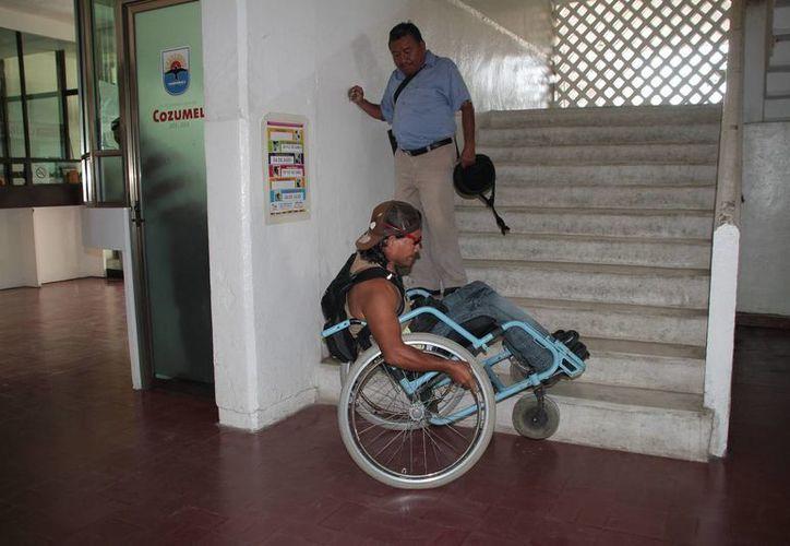 Se desconoce cuántas personas con discapacidad hay en la isla. (Julián Miranda/SIPSE)