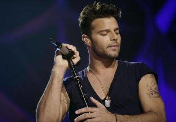 Ricky Martin ofrecerá concierto en Cancún. (Contexto/Internet)