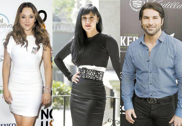 Sherlyn, Susana Zabaleta y Arturo Carmona opinan sobre el buylling. (Milenio)