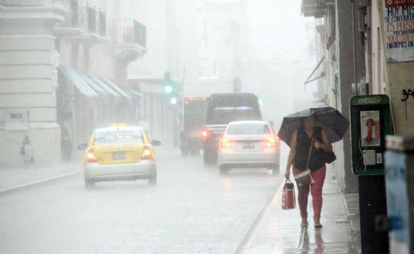 """""""Nana"""" generaría lluvias en diversas regiones de la entidad. (Novedades Yucatán)"""